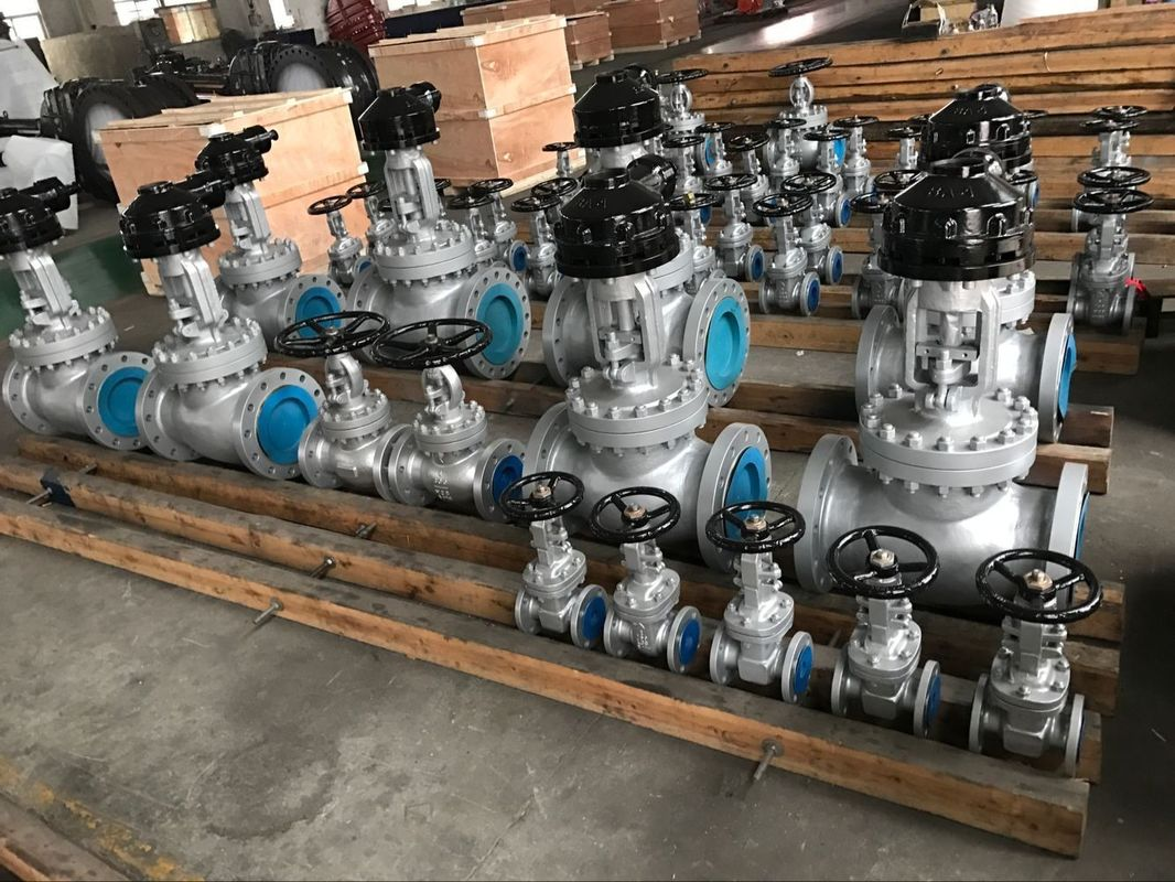 Ansi Standard Din Gate Valve F4  F5 Series Seal Welded Seats For High Pressure